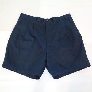Roundtree & Yorke ELASTIC WAIST Blue Shorts